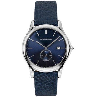 エンポリオアルマーニ腕時計/メンズ/ARS1010/ブルーダイアル/スイスメイド/スモールセコンド