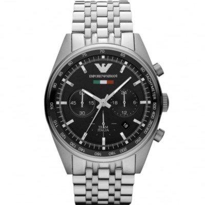 【海外限定モデル】エンポリオアルマーニ腕時計/メンズ/AR5983/ブラックダイアル/スポーツ