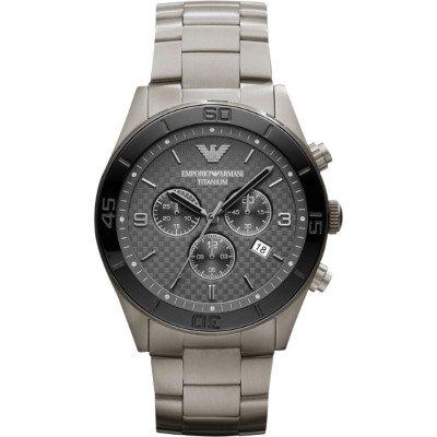 エンポリオアルマーニ腕時計/メンズ/AR9502/グレーダイアル/スポーツ/チタン