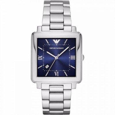 エンポリオアルマーニ腕時計/メンズ/AR11072/ブルーダイアル/モダンスクエア