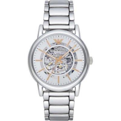 エンポリオアルマーニ腕時計/メンズ/AR1980/スケルトンダイアル/メカニコ/自動巻き