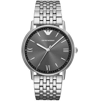 エンポリオアルマーニ腕時計/メンズ/AR11068/グレーダイアル/カッパ
