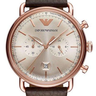 52ee66cd00 エンポリオアルマーニ腕時計/メンズ/AR11106/グレーダイアル/クロノ ...