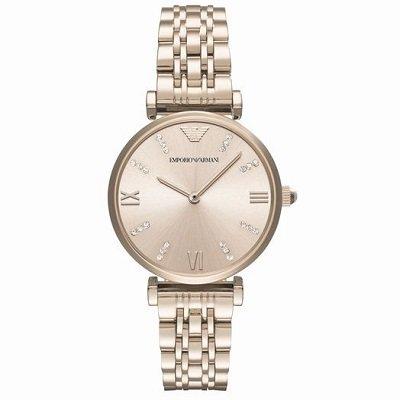 エンポリオアルマーニ腕時計/レディース/AR11059/ローズゴールドダイアル/ジャンニ