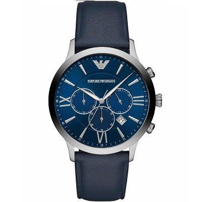 エンポリオアルマーニ腕時計/メンズ/AR11226/ブルーダイアル/レザーベルト/ジョバンニ