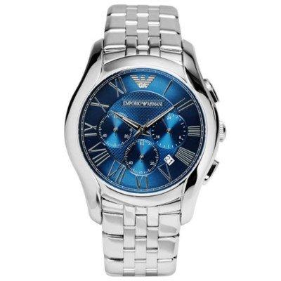 エンポリオアルマーニ腕時計/メンズ/AR1787/ブルーダイアル/クラシック/クロノグラフ