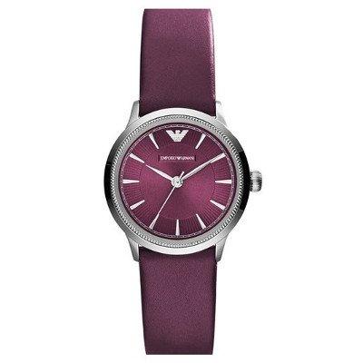 エンポリオアルマーニ腕時計/レディース/AR1805/プラムダイアル/クラシック