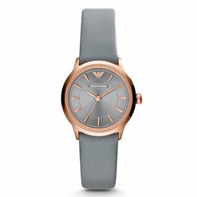 エンポリオアルマーニ腕時計/レディース/AR1806/グレーダイアル/クラシック