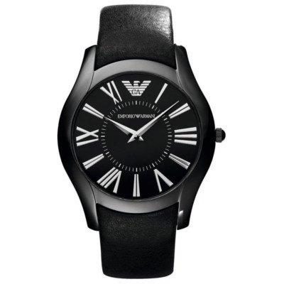 エンポリオアルマーニ腕時計/メンズ/AR2059/ブラックダイアル/クラシック