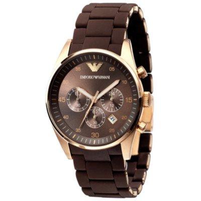 エンポリオアルマーニ腕時計/メンズ/AR5864/ブルーダイアル/スポーツ/クロノグラフ