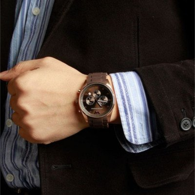 on sale 735a6 bac63 エンポリオアルマーニ腕時計/メンズ/AR5890/ブラウンダイアル/スポーツ - 【Armani-Side】