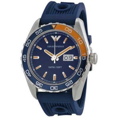 エンポリオアルマーニ腕時計/メンズ/AR6045/ブルーダイアル/スポーツ