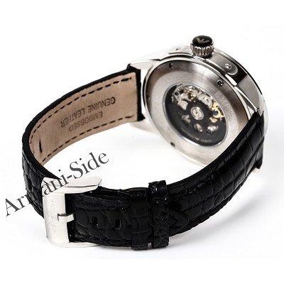 エンポリオアルマーニ腕時計/メンズ/AR4629/スケルトンダイアル/メカニコ/自動巻き