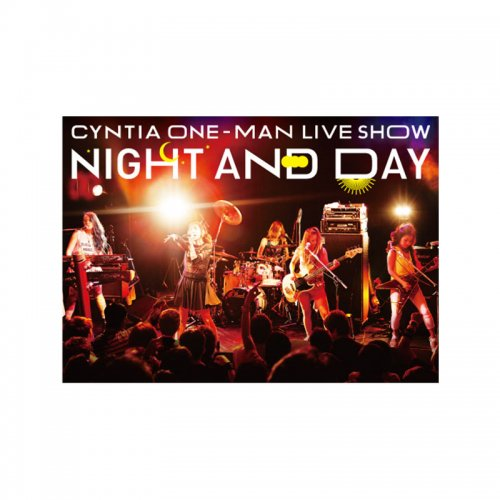<img class='new_mark_img1' src='https://img.shop-pro.jp/img/new/icons1.gif' style='border:none;display:inline;margin:0px;padding:0px;width:auto;' />CYNTIA 「NIGHT AND DAY」 LIVE DVD