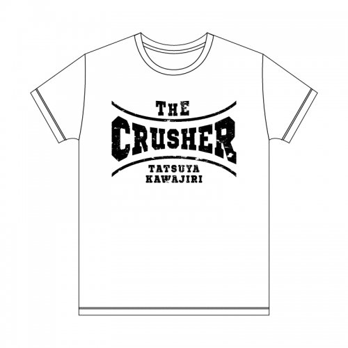 <img class='new_mark_img1' src='//img.shop-pro.jp/img/new/icons1.gif' style='border:none;display:inline;margin:0px;padding:0px;width:auto;' />川尻達也THE CRUSHER Tシャツ<ホワイト>