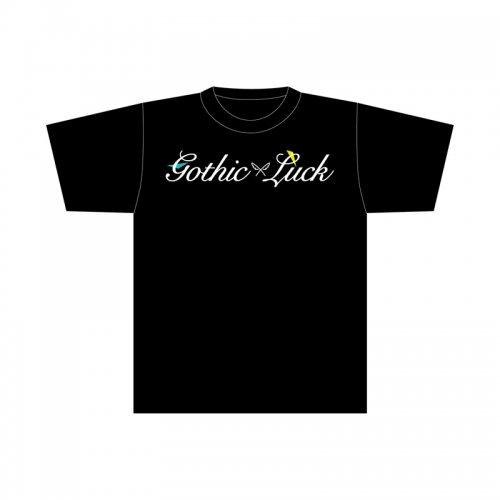 <img class='new_mark_img1' src='//img.shop-pro.jp/img/new/icons1.gif' style='border:none;display:inline;margin:0px;padding:0px;width:auto;' />Gothic × Luck ロゴTシャツ