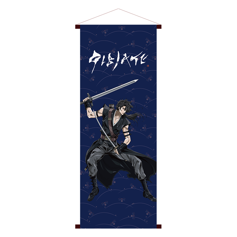 <img class='new_mark_img1' src='https://img.shop-pro.jp/img/new/icons1.gif' style='border:none;display:inline;margin:0px;padding:0px;width:auto;' />ジビエート キャラクタータペストリー 神崎千水(紺色)