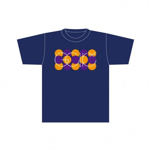 <img class='new_mark_img1' src='https://img.shop-pro.jp/img/new/icons1.gif' style='border:none;display:inline;margin:0px;padding:0px;width:auto;' />GCLK サークルロゴ Tシャツ ネイビー