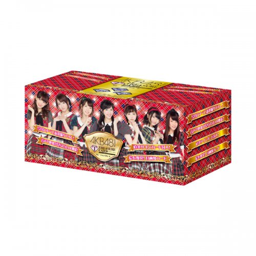 AKB48 official TRESURE CARD 15P BOX【1BOX 15パック入り】