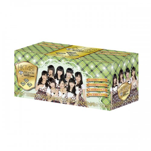 HKT48 official TRESURE CARD 15P BOX【1BOX 15パック入り】