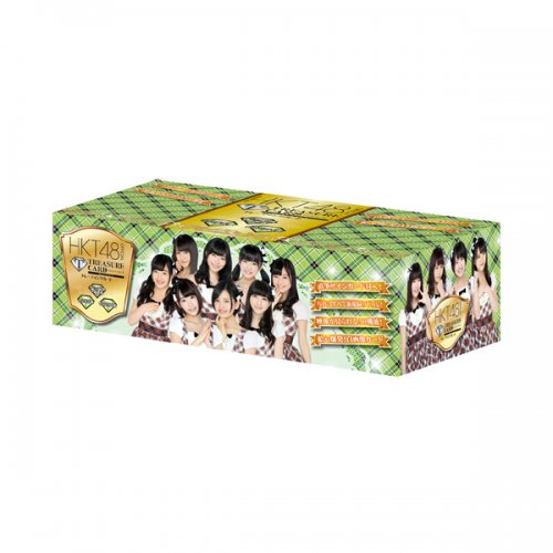 HKT48 official TRESURE CARD 10P BOX【1BOX 10パック入り】