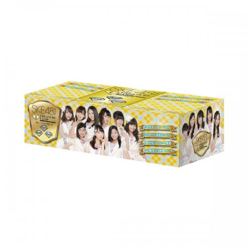 SKE48 official TRESURE CARD 10P BOX【1BOX 10パック入り】