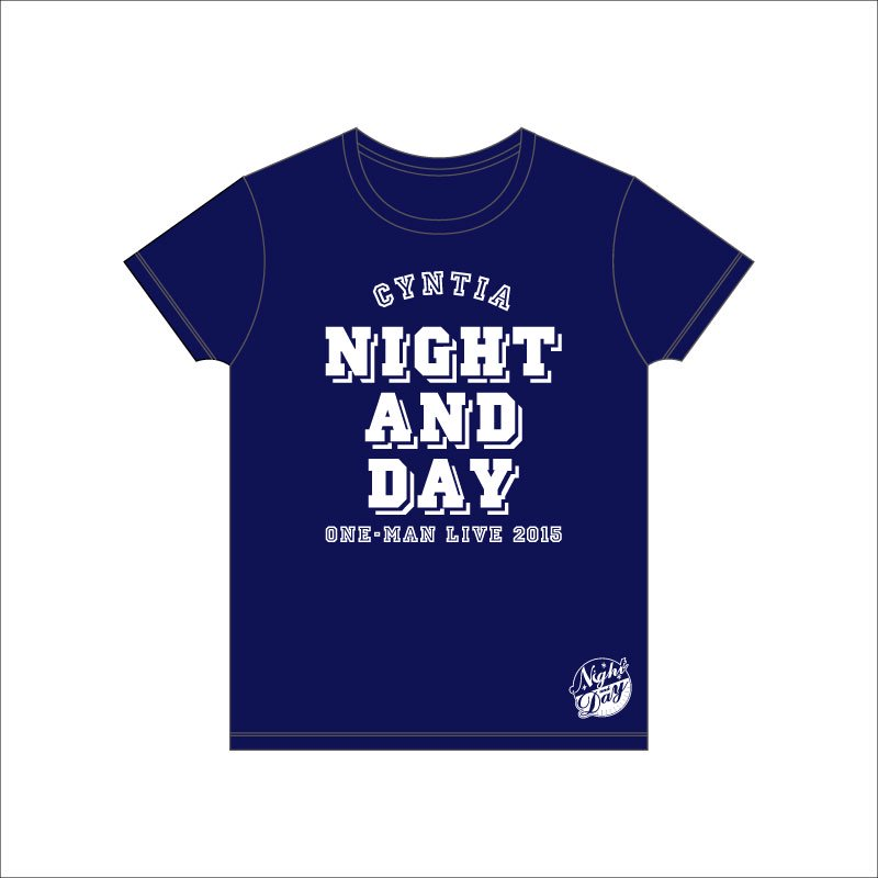 <img class='new_mark_img1' src='//img.shop-pro.jp/img/new/icons1.gif' style='border:none;display:inline;margin:0px;padding:0px;width:auto;' />NIGHT AND DAY Tシャツ