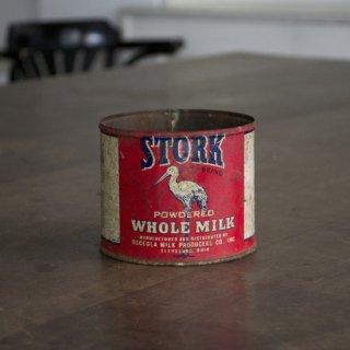 ブリキ缶/ホールミルク缶/フランス/ヴィンテージ