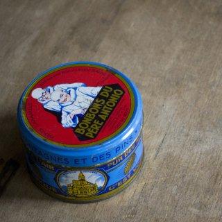 ブリキ缶/BONBONS/フランス/パリ/ヴィンテージ