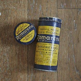ブリキ缶/フランス/ローズマリー/胃薬