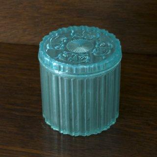 プラスティックボックス/透明/ブルー/小物入れ