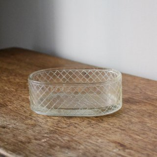 ガラス小物入れ/1930年代/フランス/アンティーク