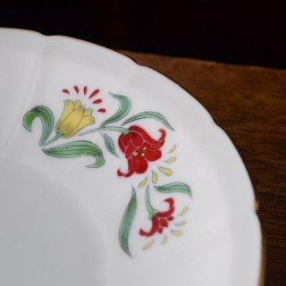 お皿2枚セット/ヴィンテージ/チューリップ/アジア/オリエンタル