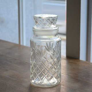 ナッツボトル/ガラス/ヴィンテージ/カナダ