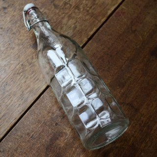 ガラスボトル/密封白栓付き/カナダ