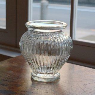 球根型花瓶/ガラスフラワーベース/カナダ
