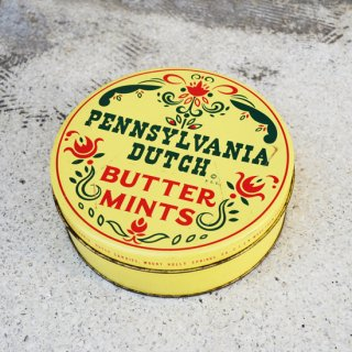 BUTTER MINTS/ブリキ缶