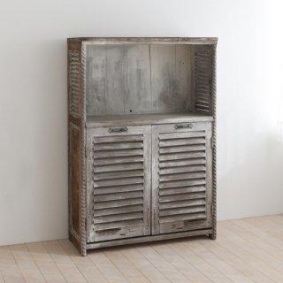 フランス家具/ルーバーシェルフ
