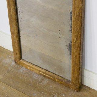 日本製/木製ヴィンテージ鏡