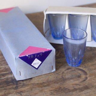 ソガチェリー/グラスセット/青/ヴィンテージ食器