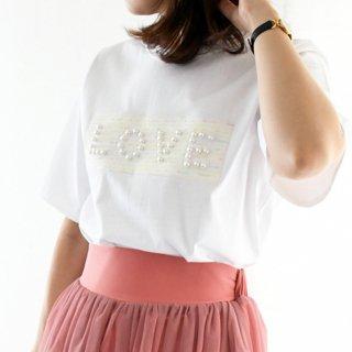 【7月7日(日)20時〜新発売】パールロゴTシャツ