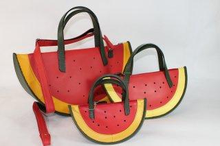 スイカの鞄(大)ショルダーベルト付