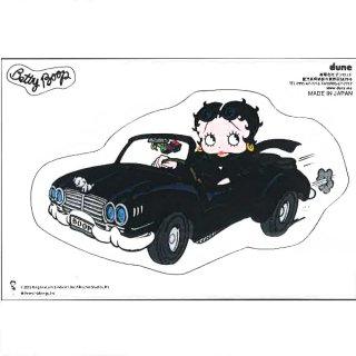 Betty Boop ステッカー【クラシックカーベティ】  BB