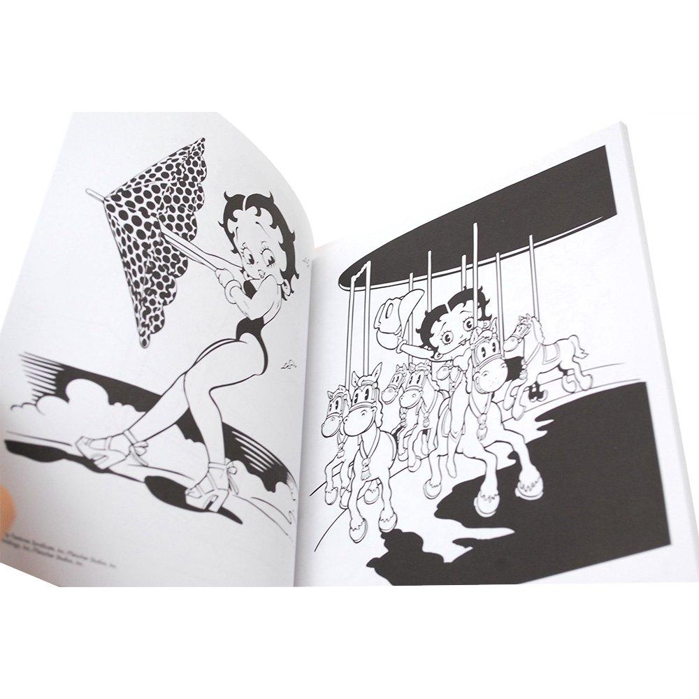 【海外版ぬりえ】Betty Boop Coloring Book  BB