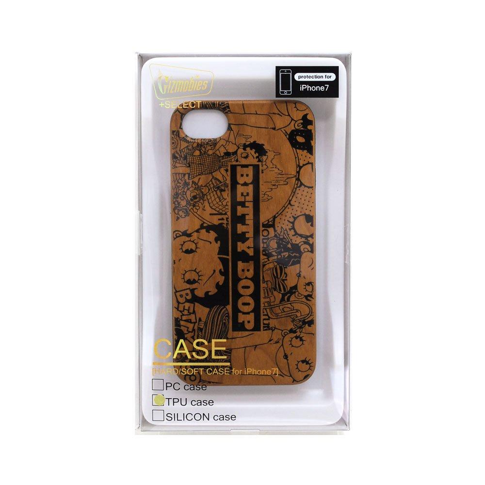 iPhone6/6s/7/8対応 ウッドケース(LIFE)AB-0763-IP67 BB