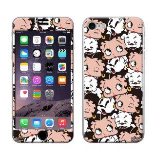 iPhone7/8対応 Gizmobies(シールプロテクターカバー)FACE FACE ZN-0003-IP07 BB