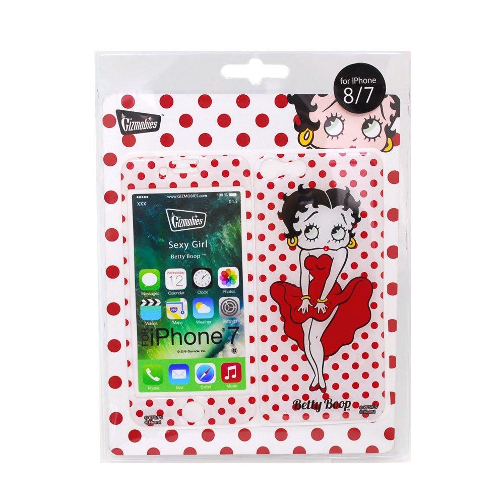 iPhone7/8対応 Gizmobies(シールプロテクターカバー)SEXY GIRL ZM-0100-IP07 BB