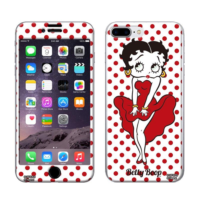 iPhone7PLUS/8PLUS対応 Gizmobies(シールプロテクターカバー)SEXY GIRL ZM-0100-IP7P BB