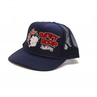 【生産終了品】【SW×BETTY BOOP】メッシュキャップ(ネイビー) BTYH-01 BB