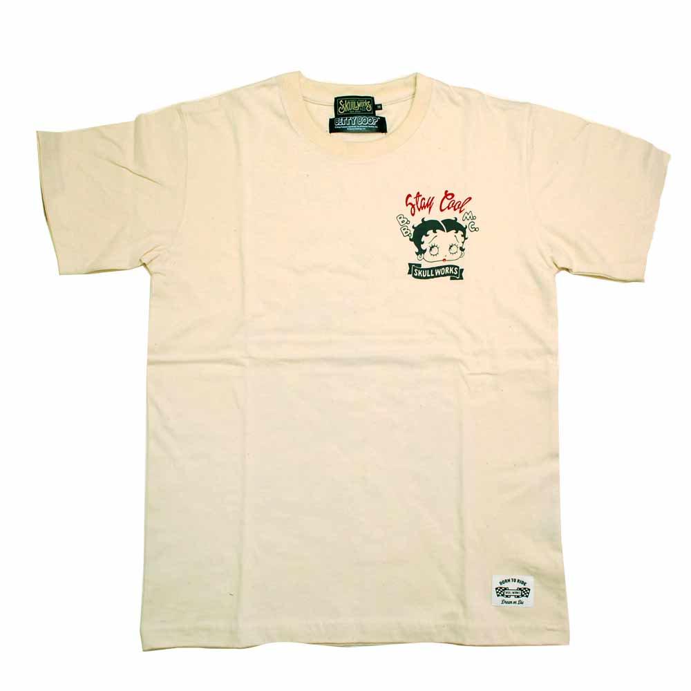 ベティーライド Tシャツ(ナチュラル)M BTY-26 BB